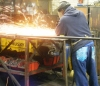 Welder working on a project