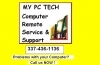 My pc tech has moved to: 153 w. prien lake rd.  lake charles, la 70601  next to kvhp fox 29