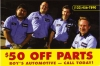 Automotice post cards, and many more to customized for your business