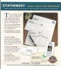Stationary business card, envelpes, and letterheads