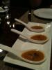 Amuse bouche - carrot soup