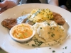 Chicken-fried steak & eggs