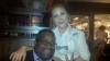 Me & my server, ellen!  she is beyond cool!