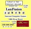 Lanfusion internet cafe