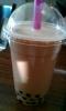 Bubble tea - black milk tea