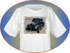 Custom photo printed t-shirt vintage car