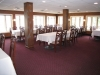 Banquet room with views of pewaukee lake