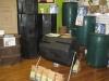 Compost tumbler, rain barrels, composting & rain harvesting supplies