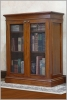 Mahogany traditional bookcase
