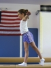 Gymnastics helps develop balance as well as strength, flexibility, coordination and most important, self confidence.